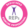 REPS qualified pilates teacher
